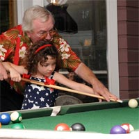 Learning to play pool